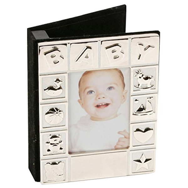 Silverplated Baby Photo Frame & Album