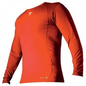 PT Base-Layer Long Sleeve Crew-Neck Shirt Small Orange