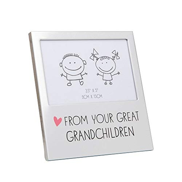 "5"" x 3.5"" - Aluminium Photo Frame - Great Grandchildren"