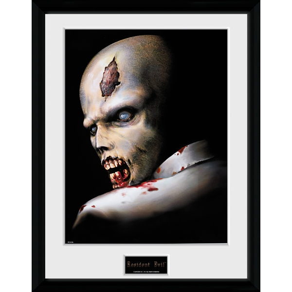 Resident Evil Zombie Collector Print (30 x 40cm)