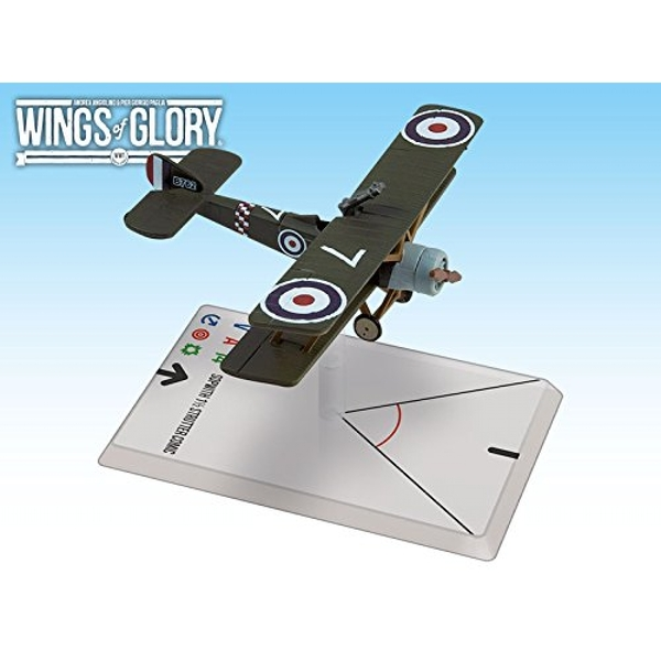 Wings of Glory WWI: Sopwith 1.5 Strutter Comic (78 Squadron) Board Game