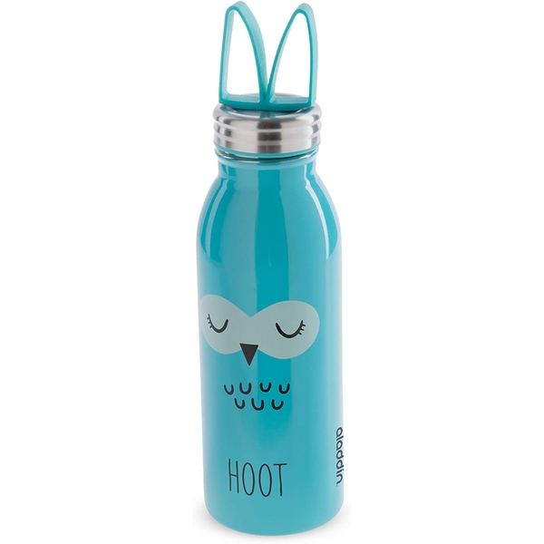 Aladdin Zoo Vacuum Insulated Water Bottle 0.45L Owl Blue