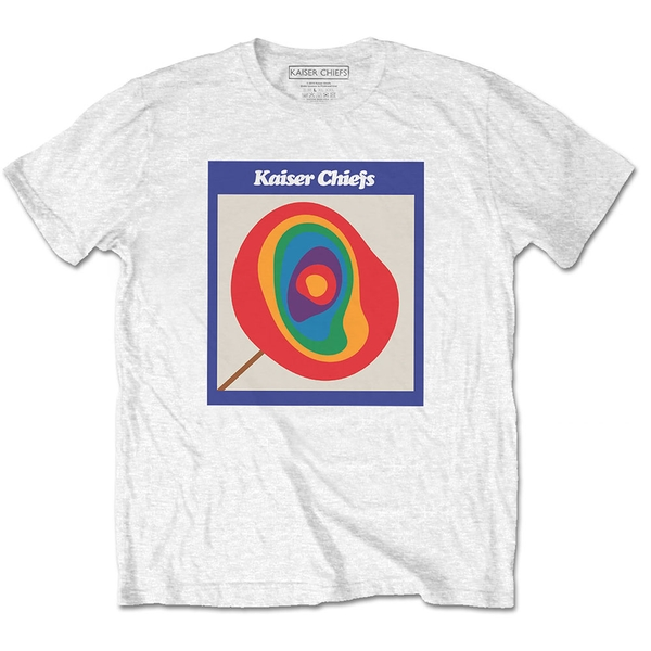 Kaiser Chiefs - Lollipop Unisex Small T-Shirt - White