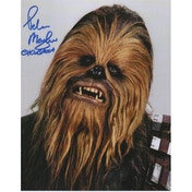 Star Wars Personally Signed 10X8 - Chewbacca - Peter Mayhew