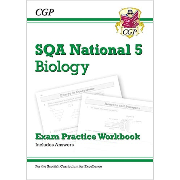 New National 5 Biology: SQA Exam Practice Workbook - includes Answers  Paperback / softback 2018