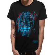 Ready Player One - High Five Men's Large T-Shirt - Black