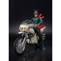 Masked Rider 2 & Remodeled Cyclone Action Figure with Vehicle