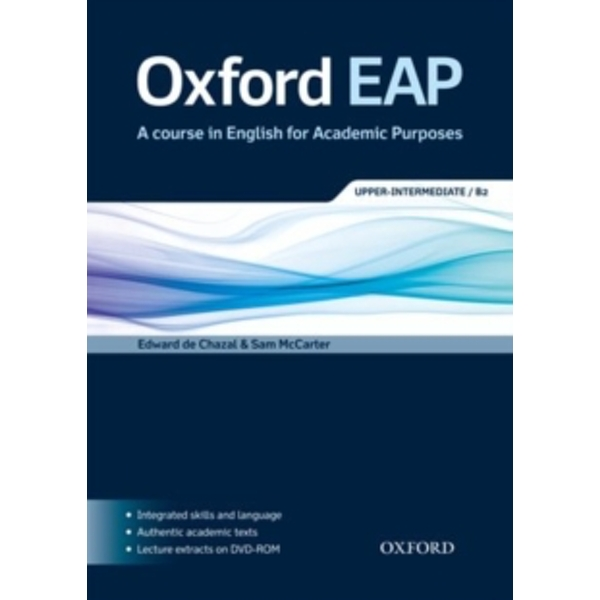 Oxford EAP: Upper-Intermediate/B2: Student's Book and DVD-ROM Pack by Oxford University Press (Mixed media product, 2012)