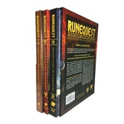 Deluxe Slipcase Set: RuneQuest RPG Roleplaying in Glorantha