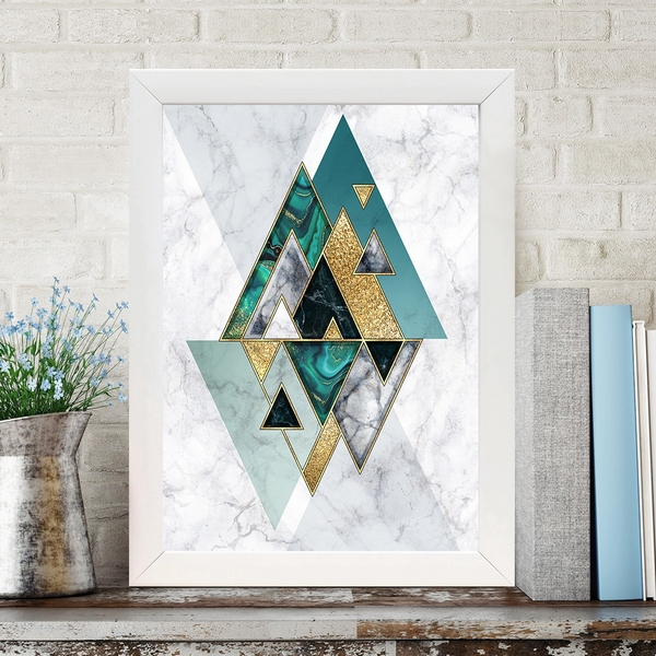 BC1532075891 Multicolor Decorative Framed MDF Painting