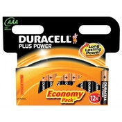 Duracell Plus Power AAA 12 Pack MN2400B12