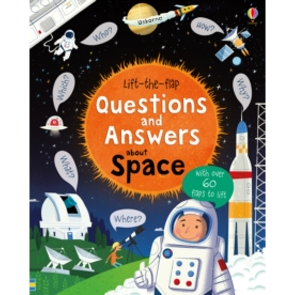 Lift-The-Flap Questions and Answers : Space