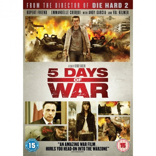 Five Days of War DVD