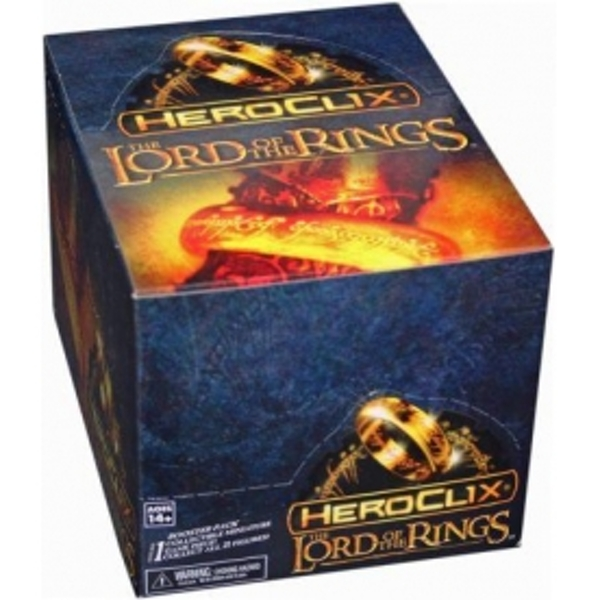 Heroclix Lord of The Rings The Two Towers Countertop Display