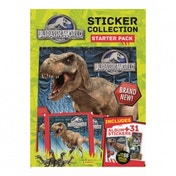 Jurassic World Panini Sticker Starter Pack