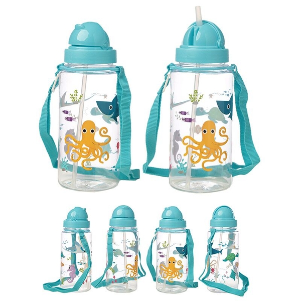 Sealife Design 450ml Childrens Water Bottle