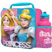 Disney Princess 3D Lunch Bag With Bottle