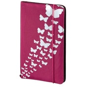 Hama Up to Fashion Nylon Case for up to 48 CDs/DVDs - Pink Butterfly
