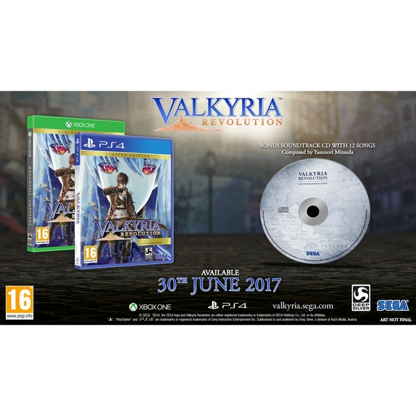 Valkyria Revolution Limited Edition Xbox One Game - Image 9
