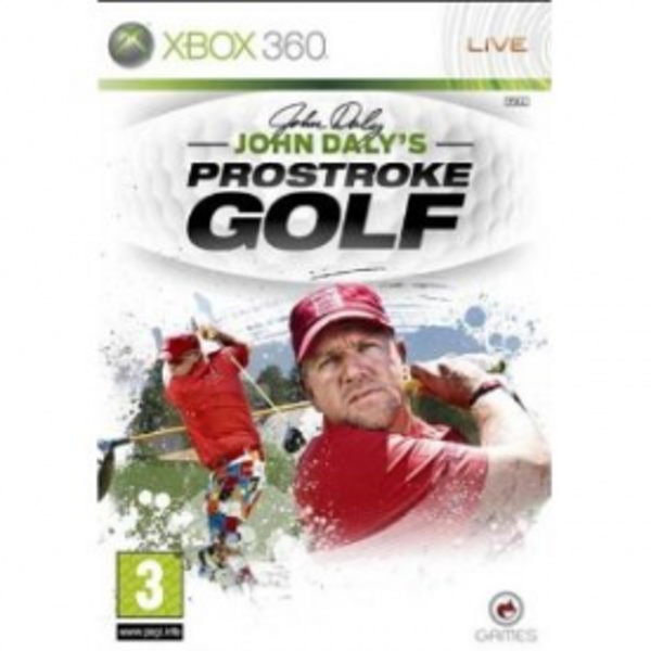John Dalys ProStroke Golf Game Xbox 360