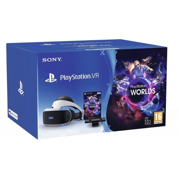 PlayStation VR Virtual Reality Console Starter Pack for PS4 [V2] UK PLUG