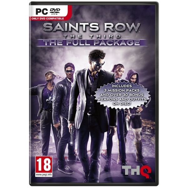 Saints Row The Third The Full Package Game PC