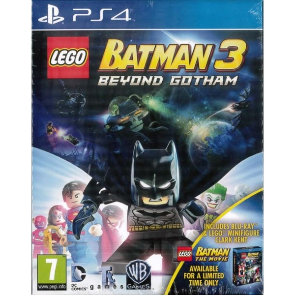 Lego Batman 3 Beyond Gotham Movie Mini Figure Ps4 Game