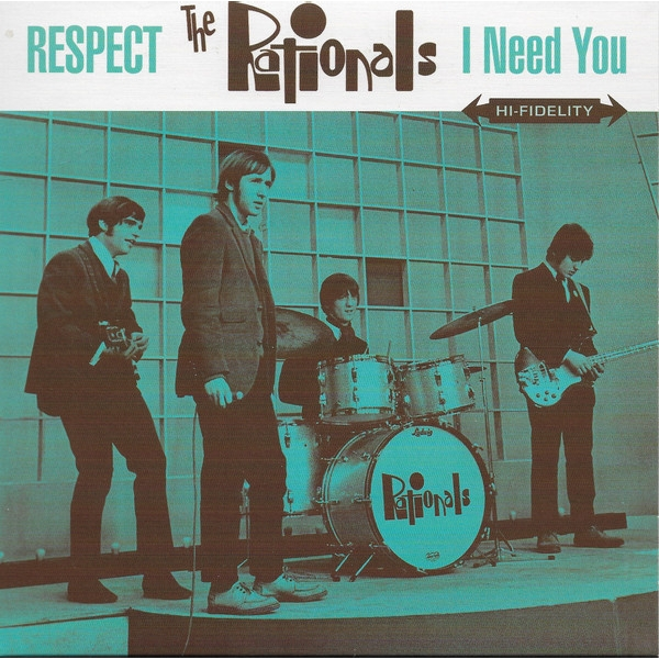 The Rationals - Respect / I Need You Vinyl