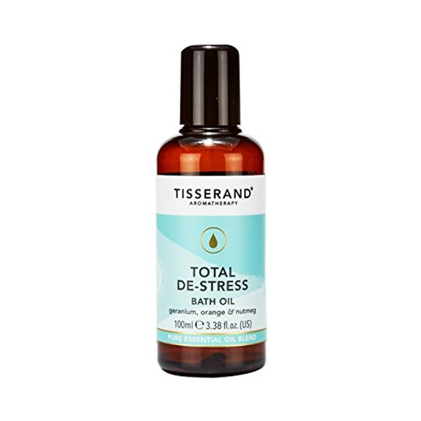 Tisserand Aromatherapy Total De-Stress Bath Oil 100ml