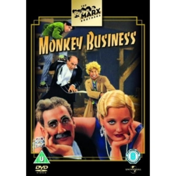 Monkey Business DVD