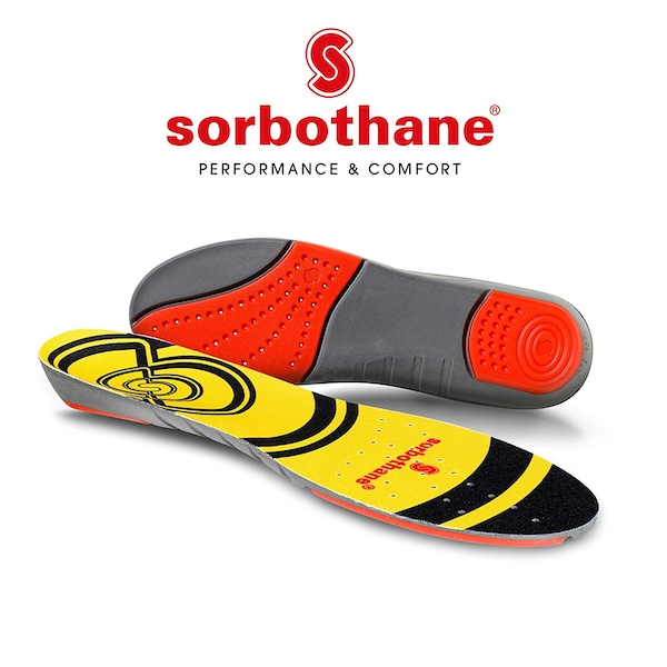 Sorbothane Double Strike Insoles UK Size 9