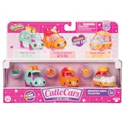 Shopkins Cutie Cars 3 Pack - Breakfast Beeps