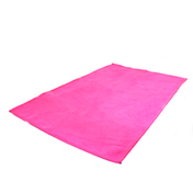 Quick Drying Microfiber Towel. Lightweight Home & Gym M&W Pink Small (50x30cm)
