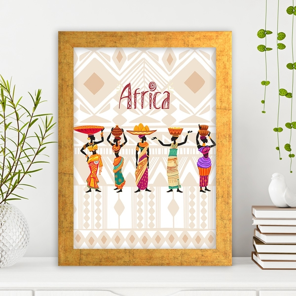 AC31156188445 Multicolor Decorative Framed MDF Painting
