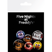 Five Nights at Freddys Mix Badge Pack