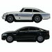 No Time To Die (James Bond) Micro Scalextric G1161 Battery Powered Race Set - Image 4