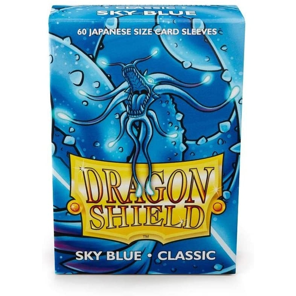 Dragon Shield Japanese Size Sky Blue Card Sleeves - 60 Sleeves
