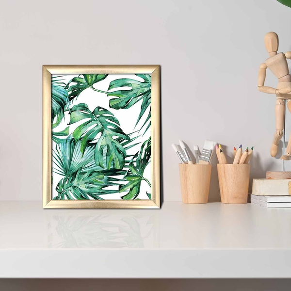 ACT-012 Multicolor Decorative Framed MDF Painting