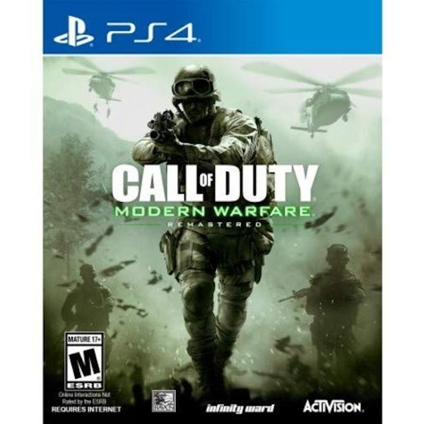 Call of Duty Modern Warfare Remastered PS4 Game - Image 1