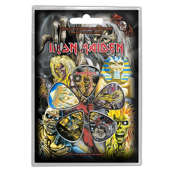 Iron Maiden - Early Albums Plectrum Pack
