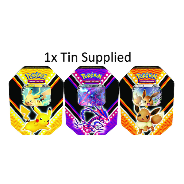 Pokemon TCG: Fall 2020 V Powers Tin - One At Random