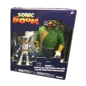 Sonic Boom - 3 Inch 2 Figure Pack - Sonic + Parallel Universe Villain
