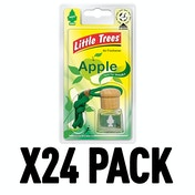 Apple (Pack Of 24) Little Trees Bottle Air Freshener