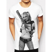 DC Comics Suicide Squad Harley Quinn Large T Shirt
