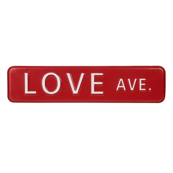 Love Ave Sign By Heaven Sends