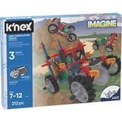 K'NEX Imagine Mountain Climber Demolition Truck Building Set