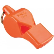 Fox 40 Pearl Safety Whistle C/W Wrist-Lanyard Orange