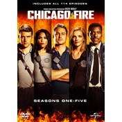 Chicago Fire: Seasons 1-5 DVD