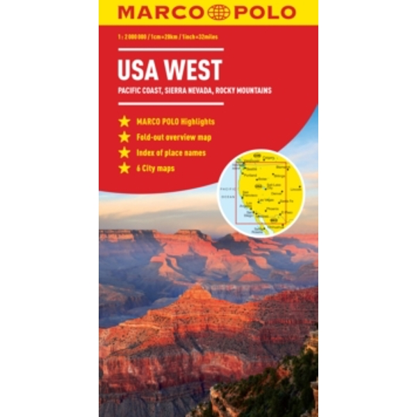 USA West Marco Polo Map