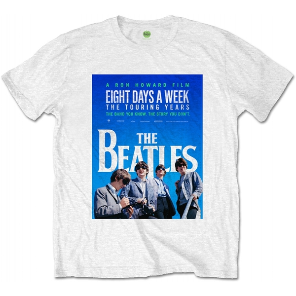 The Beatles - 8 Days a Week Movie Poster Men's Small T-Shirt - White